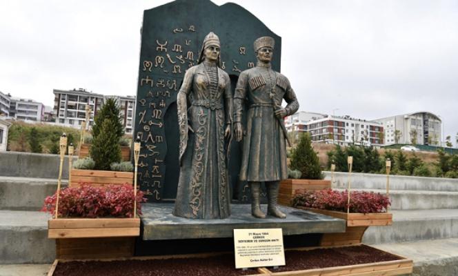 Çerkez Soykırım Anıtı Beylikdüzü'nde açıldı