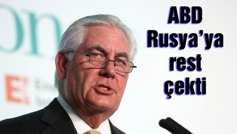 ABD: Rusya tercih yapmak zorunda