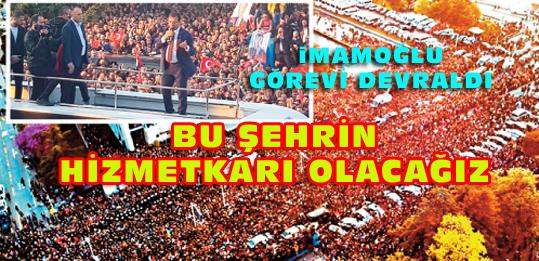 Adaletten, sevgiden, barıştan, Atatürk'ten vazgeçmedik