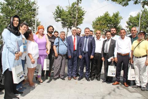 Alatepe gazetecilerin basın bayramını kutladı