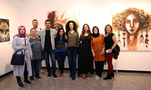 Anadolu İlmekleri SKSM'de sanatseverler ile buluştu