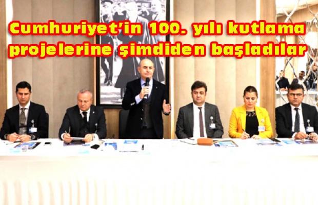 Cumhuriyet'in 100. Yılına 50 bin fidan