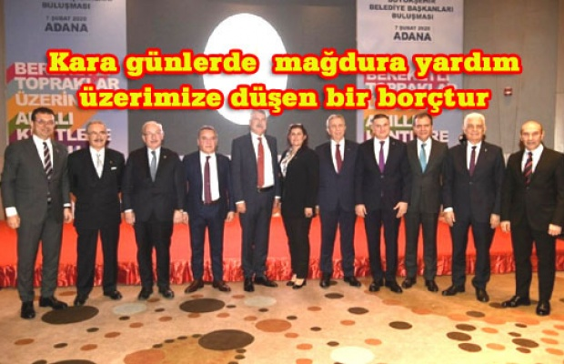 CHP'li 11 Büyükşehir Belediyesi'nden bildiri
