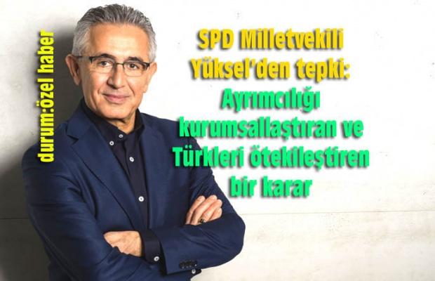 ALMANYA'DA TÜRKÇE'YE HAYIR!