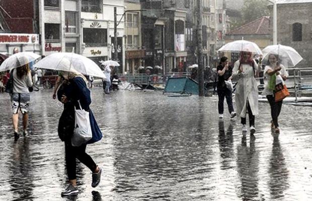 İstanbul için 'çok kuvvetli' yağış uyarısı