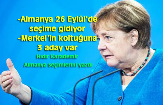 ANKETLERDE SPD'Lİ SCHOLZ ÖNDE
