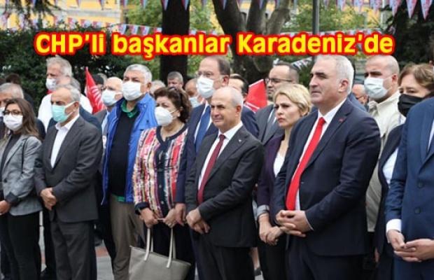 CHP'nin kuruluşunu Trabzon'da kutladılar