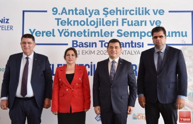 Belediyeler, Antalya City Expo'da buluşuyor!