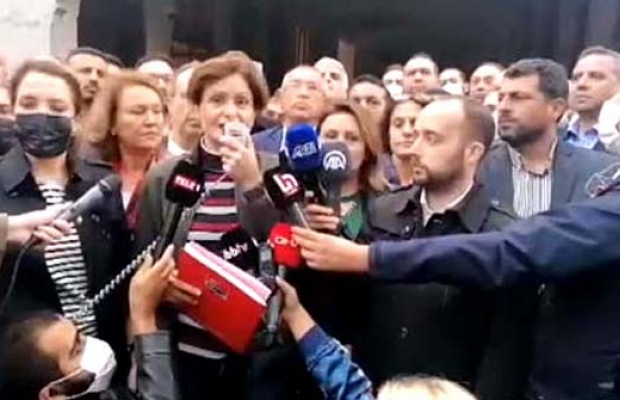 Mahkeme kararına rağmen tahliyeye engel, Kaftancıoğlu'ndan tepki