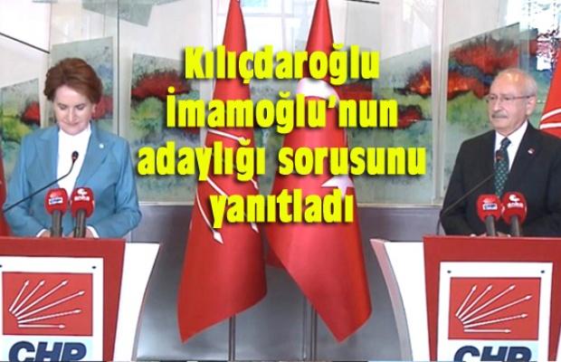 """""""İMAMOĞLU'NUN ADAYLIĞI İÇİN BANA GELMİŞ BİR TALEP YOK"""""""