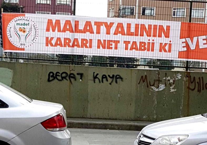 Aslanoğlu MADEF'İ kınadı