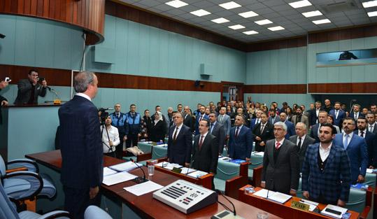AVCILAR BELEDİYE MECLİSİ İLK TOPLANTISINI YAPTI