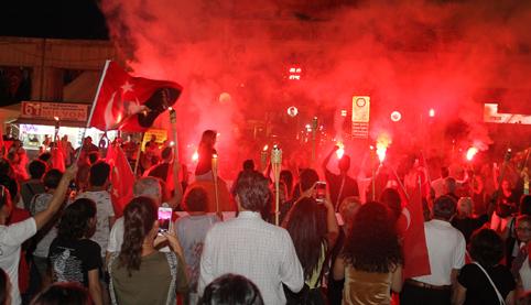 Bakırköy'de 30 Ağustos Zafer Bayramı