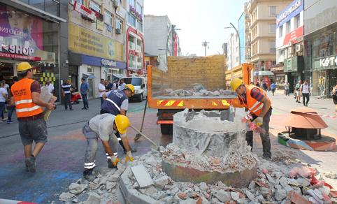 Bakırköy'ün ünlü caddesi yenileniyor