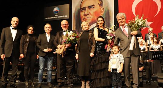 Büyükçekmece Belediyesi Musiki Derneği'nden 25. yıl konseri