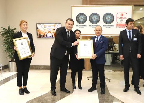 Büyükçekmece Belediyesi'ne 3 önemli uluslararası sertifika