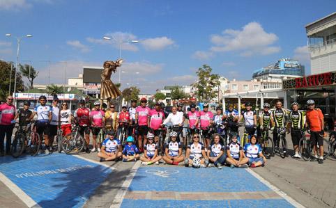 Büyükçekmece Uluslararası Yol Bisikleti Yarışması'na ev sahipliği yapıyor