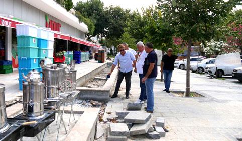 Büyükçekmece'nin cadde ve sokakları yenileniyor