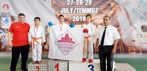 Çatalca Belediyesi Karate Takımı Başarıya Doymuyor