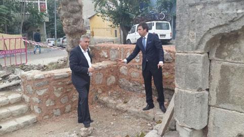 Çatalca'da tarihi çeşmeler yeniden hayat buldu