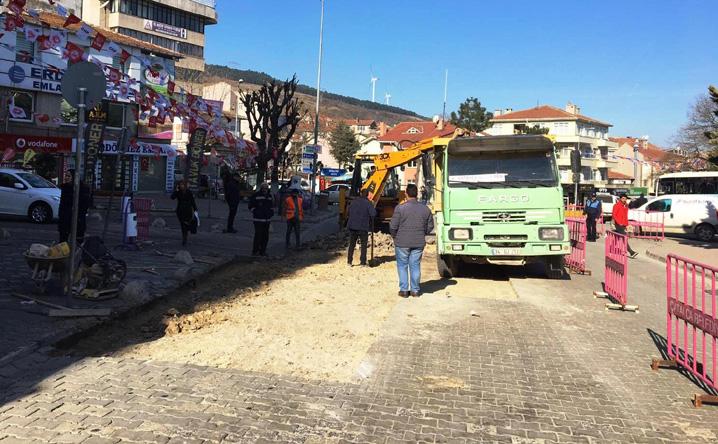 Çatalca'da bakım-onarım çalışmaları sürüyor