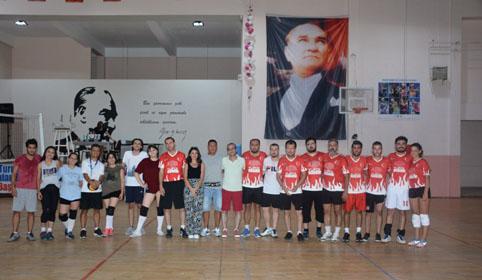 Çatalca'da beklenen turnuva başladı