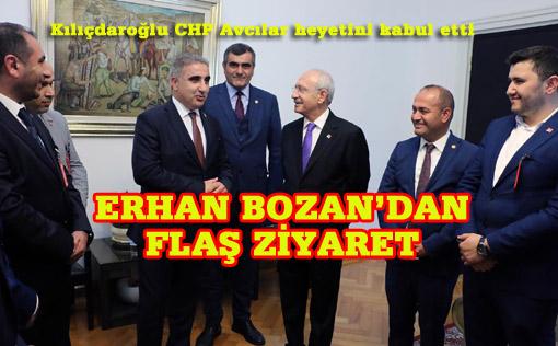 Avcılar  CHP heyeti Ankara'da
