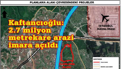 CHP: Bu planlar İstanbul'un sonu olabilir