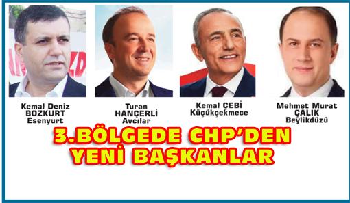 CHP Esenyurt ve Küçükçekmece'yi  AK Parti'den aldı