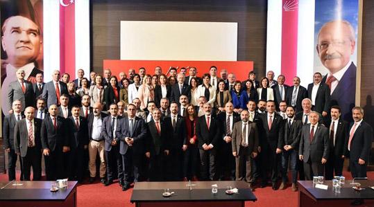 CHP İSTANBUL'DAN KILIÇDAROĞLU'NA ZİYARET