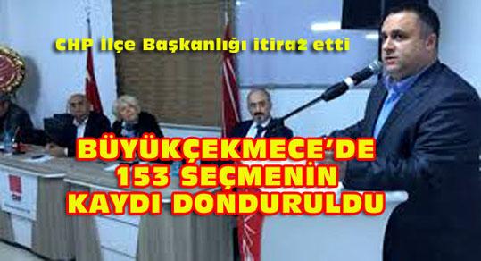 CHP itiraz etti 153 sahte seçmen silindi