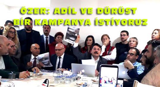 CHP 'li Taşkın Özer İTÜ Raporlarını açıkladı