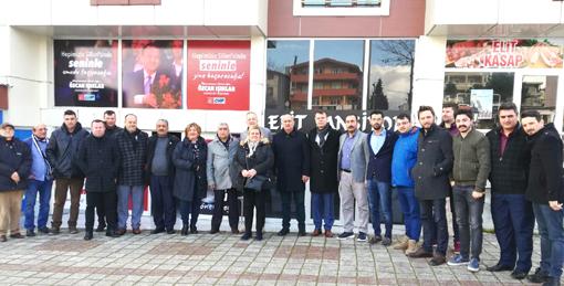 CHP Silivri'nin Meclis Üyeleri sahada