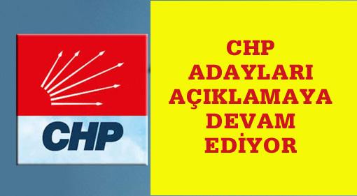 CHP'de 300 aday daha belli oluyor