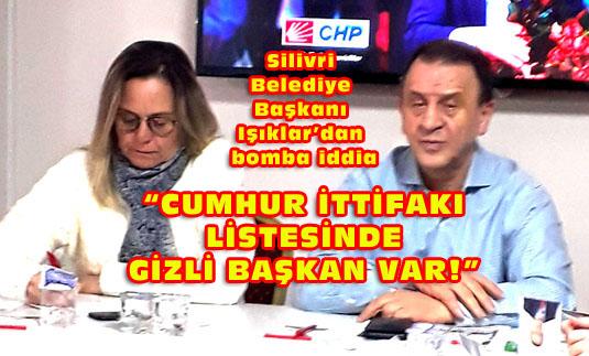 CHP'li başkandan Cumhur İttifakı listesine bomba yorum!