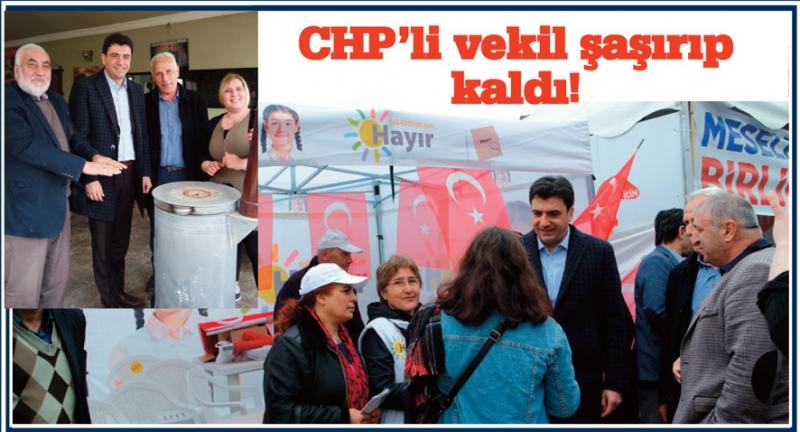 CHP'li Milletvekili Emre Arnavutköy'de şaşırıp kaldı!