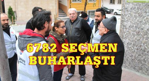 """CHP'liler kapı kapı o """"seçmenleri"""" arıyor!"""