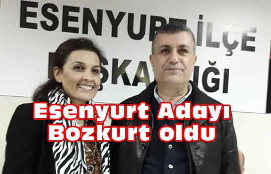 Esenyurt'a Kemal Deniz Bozkurt resmen aday