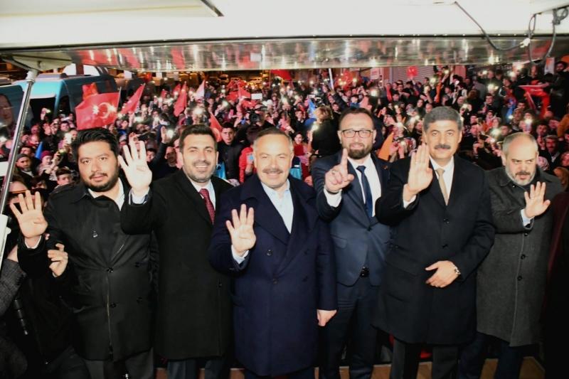 Esenyurt'ta BBP ve Saadet adayları çekildi