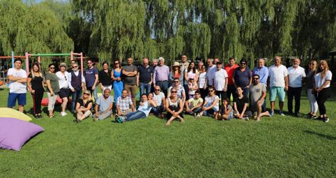 Gazeteciler piknikte buluştu