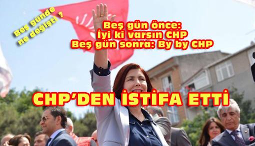 Handan Toprak Benli CHP'den istifa etti DSP yolunda