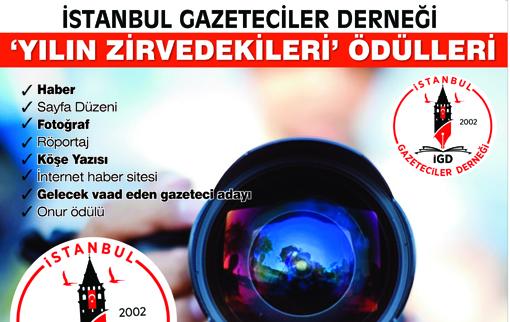 İGD 'ZİRVEDEKİLER ÖDÜLLERİ' YARIN DAĞITILIYOR