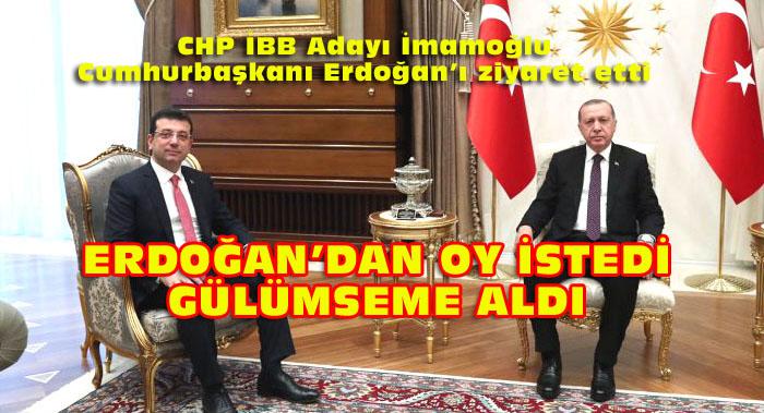 İmamoğlu Erdoğan ile 45 dakika görüştü