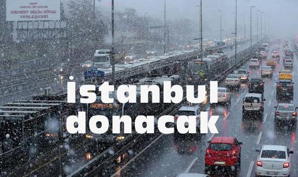 İSTANBUL'A KAR NE ZAMAN GELİYOR?