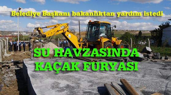 İstanbul'un içme suyu havzası tehdit altında