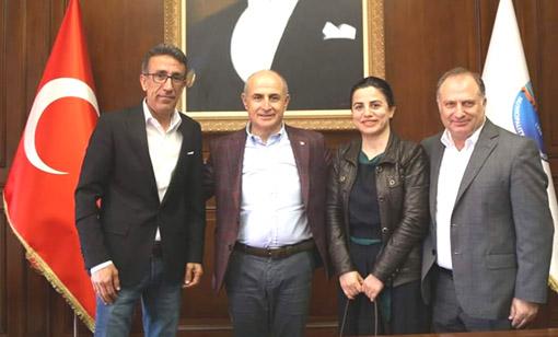 İYGAD'dan Hasan Akgün'e ziyaret
