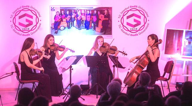 Kadın Hakları Günü'nde anlamlı konser