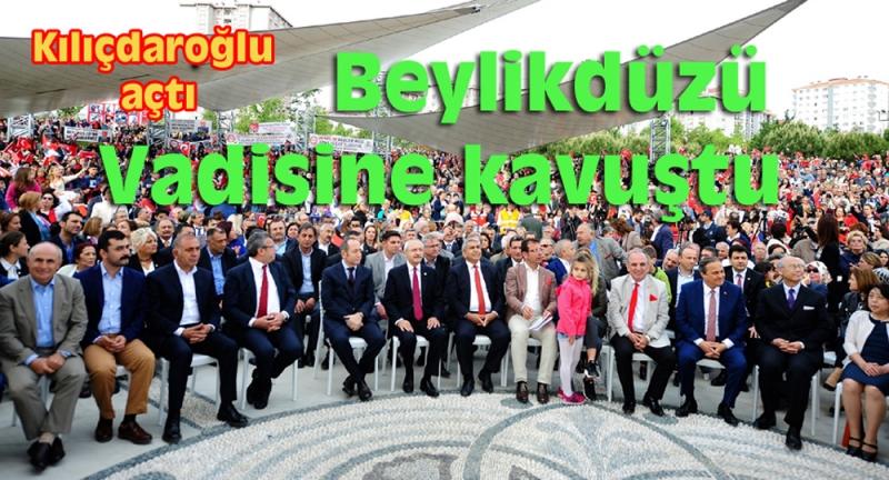 Kılıçdaroğlu 1 milyon metrekarelik Yaşam Vadisi'ni açtı