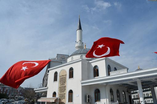 Kuvayı Milliye Camii Beylikdüzü'nde hizmete girdi