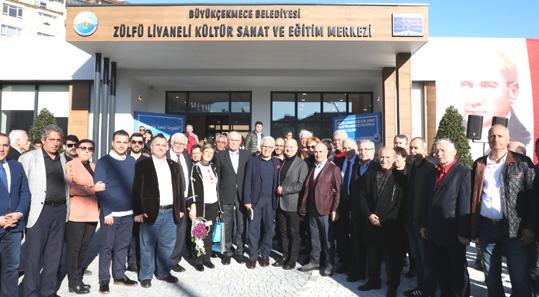 Livaneli: Adıma yapılan kültür merkezi beni gururlandırdı